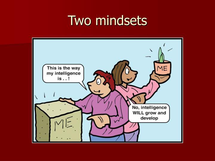 Two mindsets