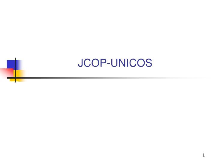 jcop unicos