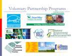 voluntary partnership programs