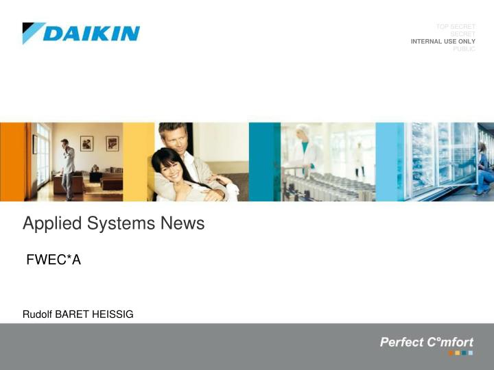 applied systems news n.